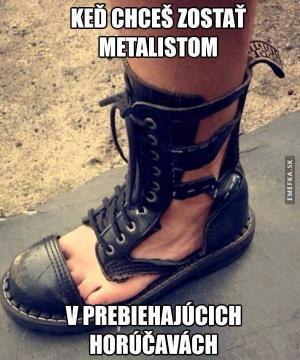 Metalisti to mají těžké:D