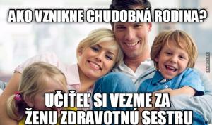 Chudá rodina