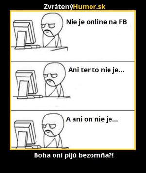 Není online