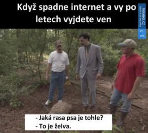 Když ti spadne internet