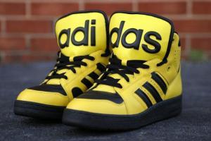Žluté Adidasky