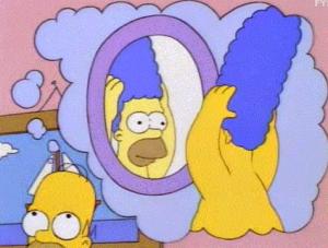 Homer - Paruka.. By: Simpsonovi - žlutá síla