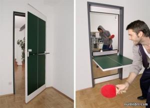 Ping pong dveře