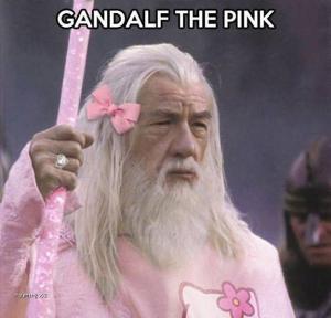 Gandalf růžový