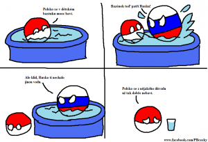 Polandball vs Rusko