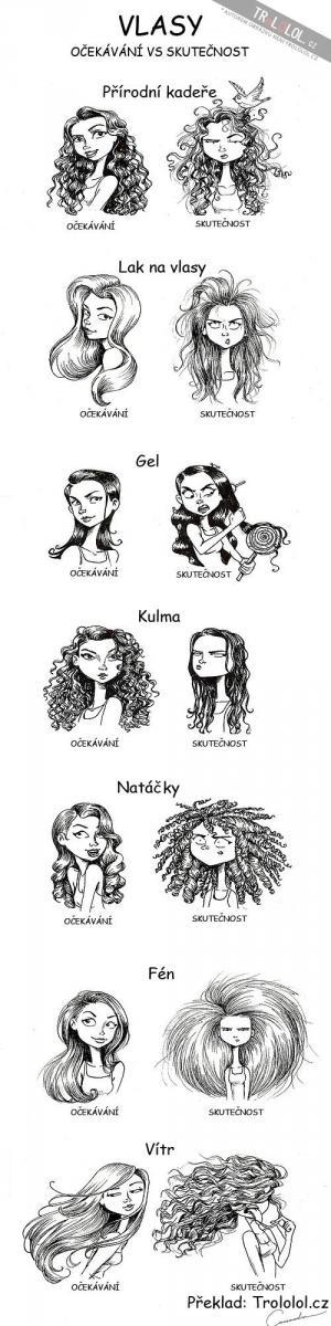 Ženy a vlasy