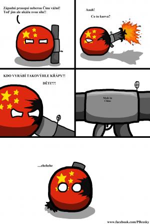 Berte Čínu vážně