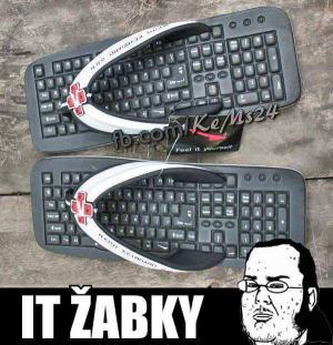 IT žabky