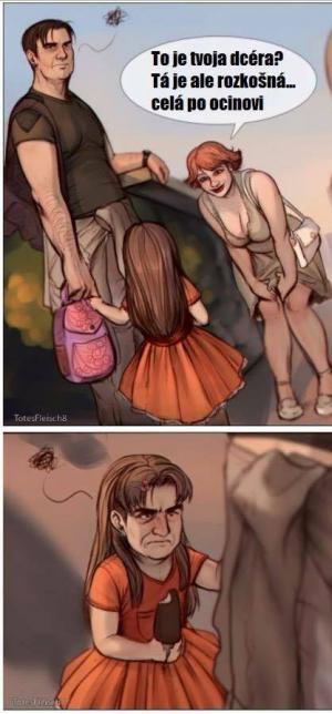 To je tvoje dcera