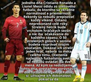C. Ronaldo a L. Messi