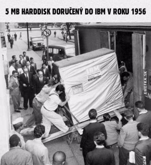 5 MB harddisk