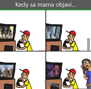 Když se máma objeví