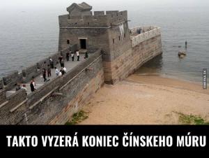 Konec čínské zdi
