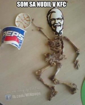 Když se hodně nudíš v KFC