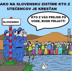 Utečenci na Slovensku