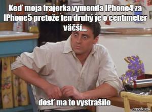 IPhone a moje frajerka