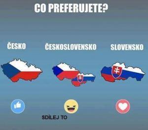 Slovensko či Česko