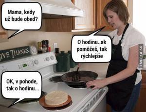 Každodenní problém při vaření oběda