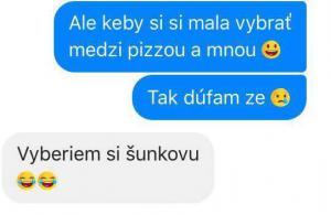 Pizza nebo já