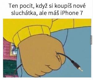 Sluchátka pro iPhone 7