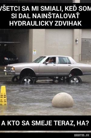 Hydraulický zdvihák