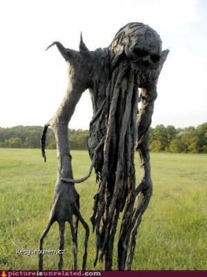 Just a regular scarecrow