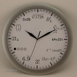 hodiny pro matfyzaka