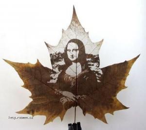 Great Leaf Carving