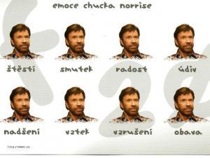 Emoce Chucka Norrise