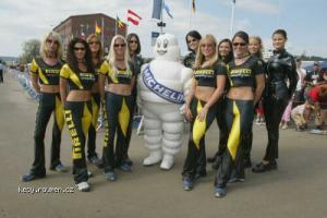 Michelin andPirelli Girls
