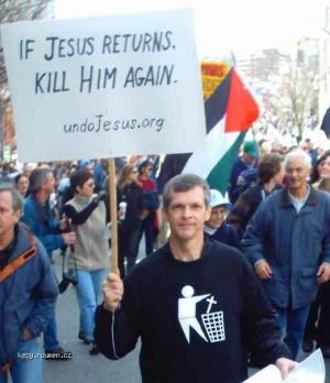 march against Bush