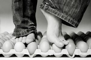tanec na vejcich