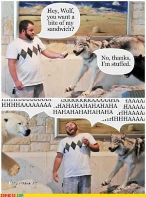 wolf sandwich