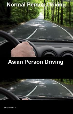 asian driving