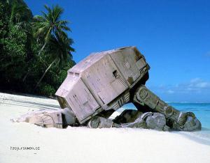 stroskotanec na plazi