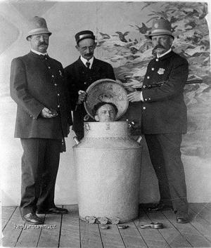 Z historie Rakousko Uherska Mini ponorka