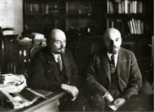 Z historie Lenin to jsou dva