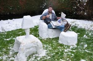 balada na snehu