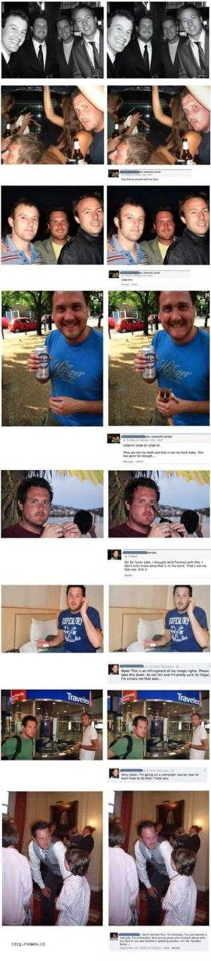 X Facebook troller