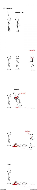 mac pc zombie