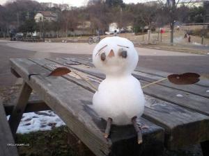smutnej snehulacek