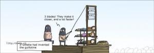 Gillette guillotine