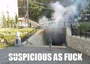 Suspicious as