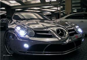 White gold Mercedes 2