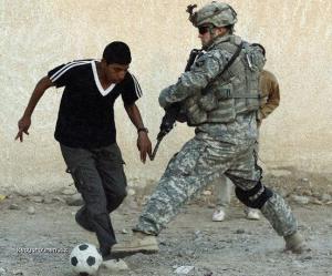 ozbrojenej futbalista