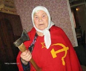 Babushka Said Hands Off The Borsch