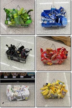 Jednofarebny nakup