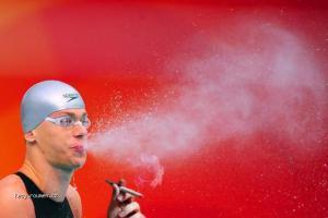 Olympiada Cigaretka po rozplavbe