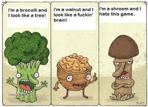 brocolli nut shroom