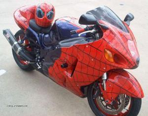 amazingspidermanmotorcyclecustompaintjob
